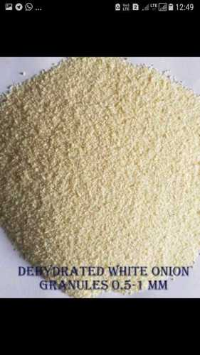Dehydrated White Onion Granules