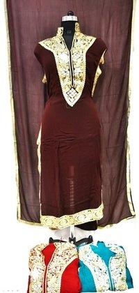 Designer Silk Fabric Suit