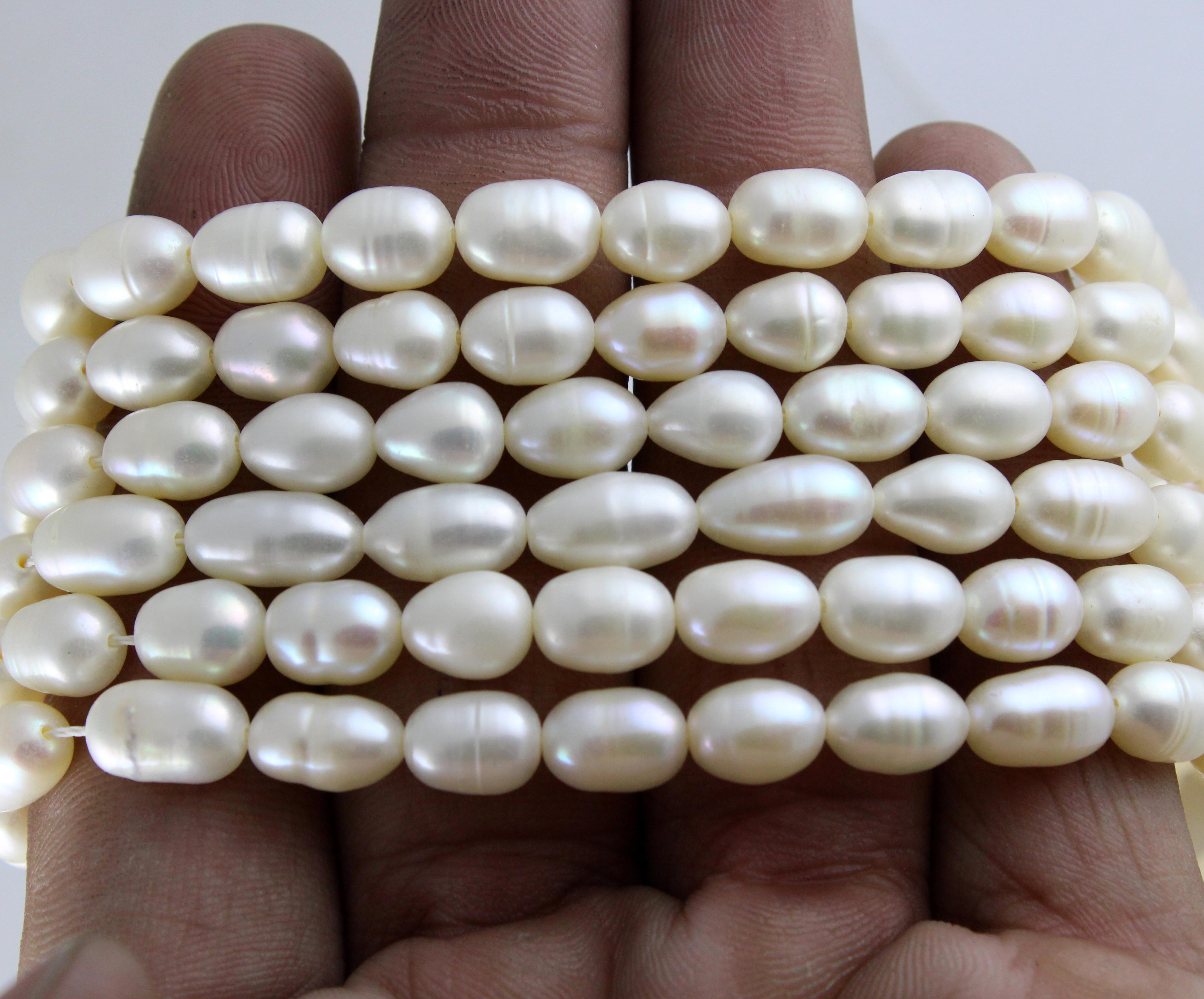 Pearl Big Drops Beads