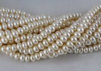 Pearl Big Button Beads