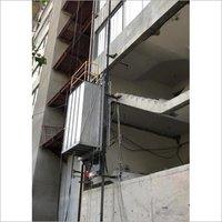 fireman evacuation lift/lowering device/fireman rescue lift