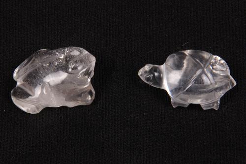 Crystal Quartz Carved Gemstone