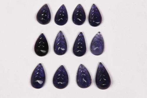 Iolite Carving Gemstone