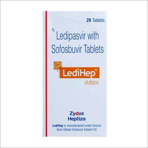 Ledipasvir With Sofosbuvir Tablets