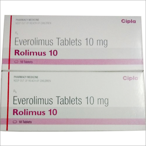 10 mg Everolimus Tablets