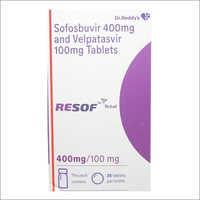 400mg Sofosbuvir And Velpatasvir 100mg Tablets