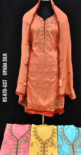 Upada Silk Fabric Suit