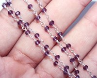 Amethyst Chain Connectors