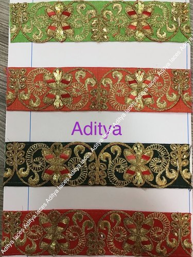 Cloth Embroidery Laces