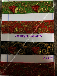 Embroidery Ribbon Laces