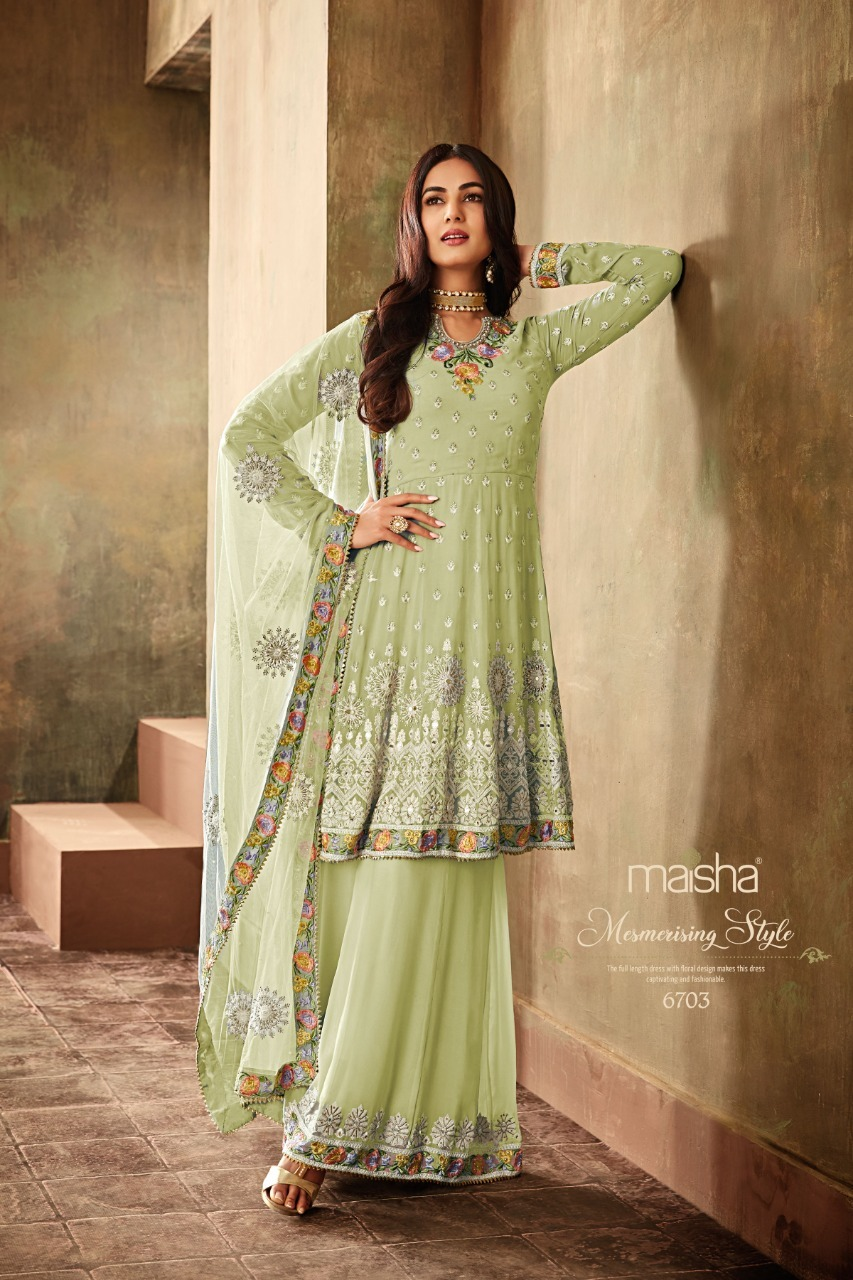Designer Heavy Gharara Suit