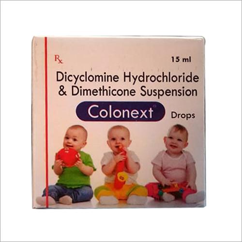 15ml Dicyclomine Hydrochloride and Dimethicone Suspension Drops