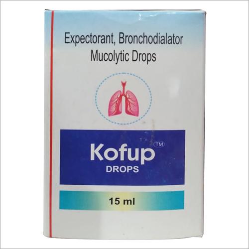 15ml Expectorant Bronchodialator Mucolytic Drops