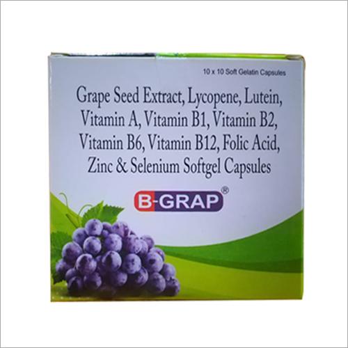 Grape Seed Extract Lycopene Lutein  Selenium Softgel Capsules