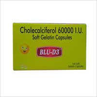 Cholecalciferol 60000 I.U. Soft Gelatin Capsules