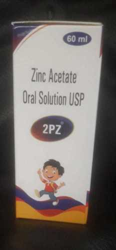 60ml Zinc Gluconate Oral Solution Syrups