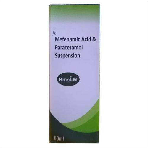 60ml Mefenamic Acid Paracetamol Suspension Syrups