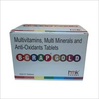 Multivitamins Multi Minerals Anti Oxidants Tablets