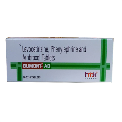 Levocetirizine Phenylephrine Ambroxol Tablets