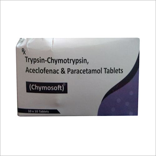 Trypsin Chymotry psin Aceclofenac Paracetamol Tablets