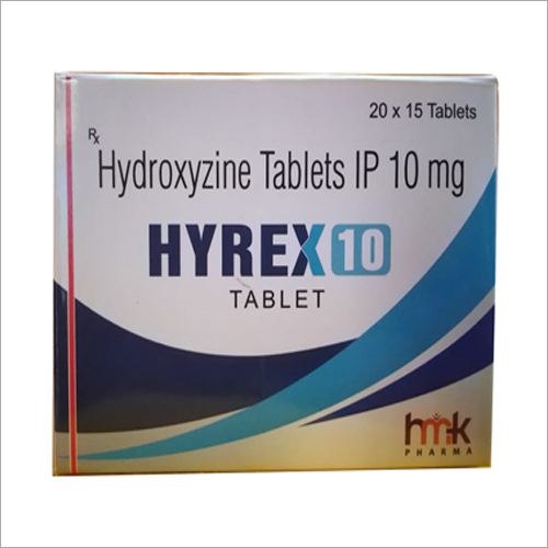 10mg Hydroxyzine Tablets IP
