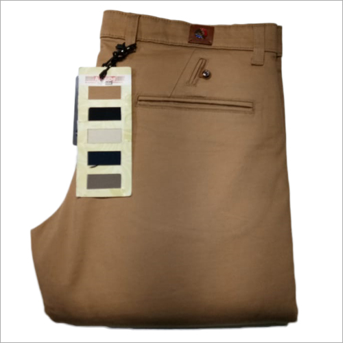 Mens Pure Cotton Trouser
