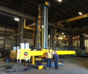 Circular Seam Welding Manipulator (Submerged Arc Welding)