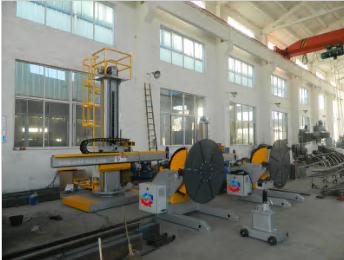 Column and Boom Welding Manipulator for MIG/TIG welding