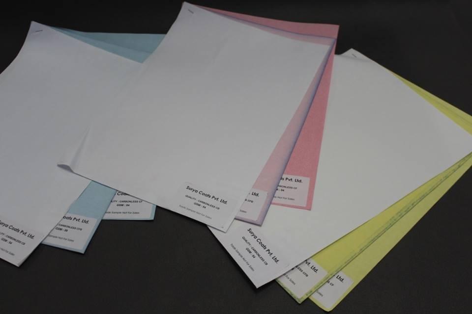 Carbon Less Ncr Paper