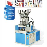 Double Color Rotary Injection Mouldiing Machine