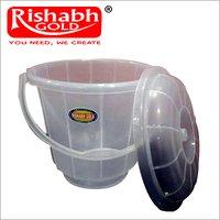 Plain Bathroom Plastic Bucket