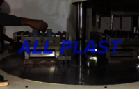 Pipe Fittings Rotary Injection Mouding Machine