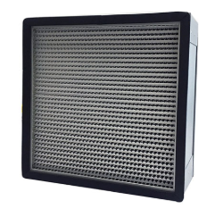 Aluminium Frame Deep Pleat HEPA Box Air Filter