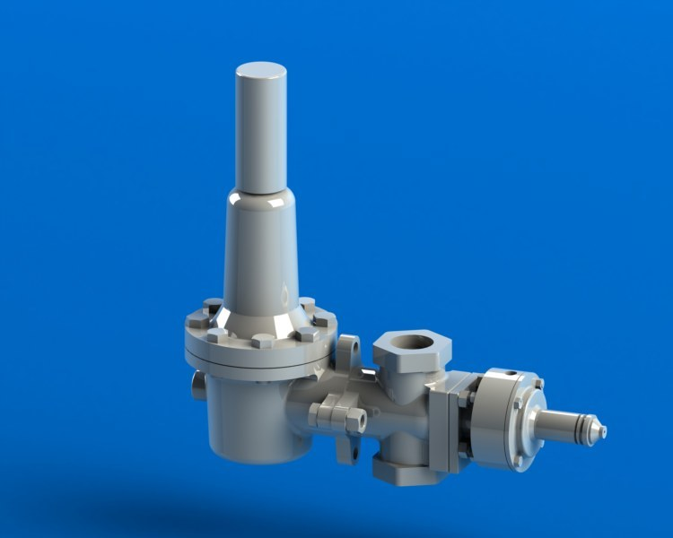 Downstream Direct Acting Pressure Regulator D81 Series