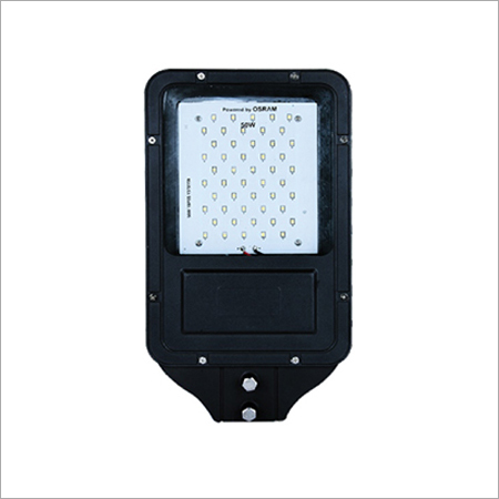 50W Street Light Full Finish Frame Model