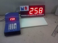 General purpose token number display system