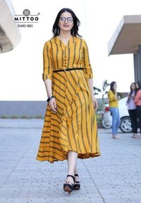 Designer Long flair Kurti