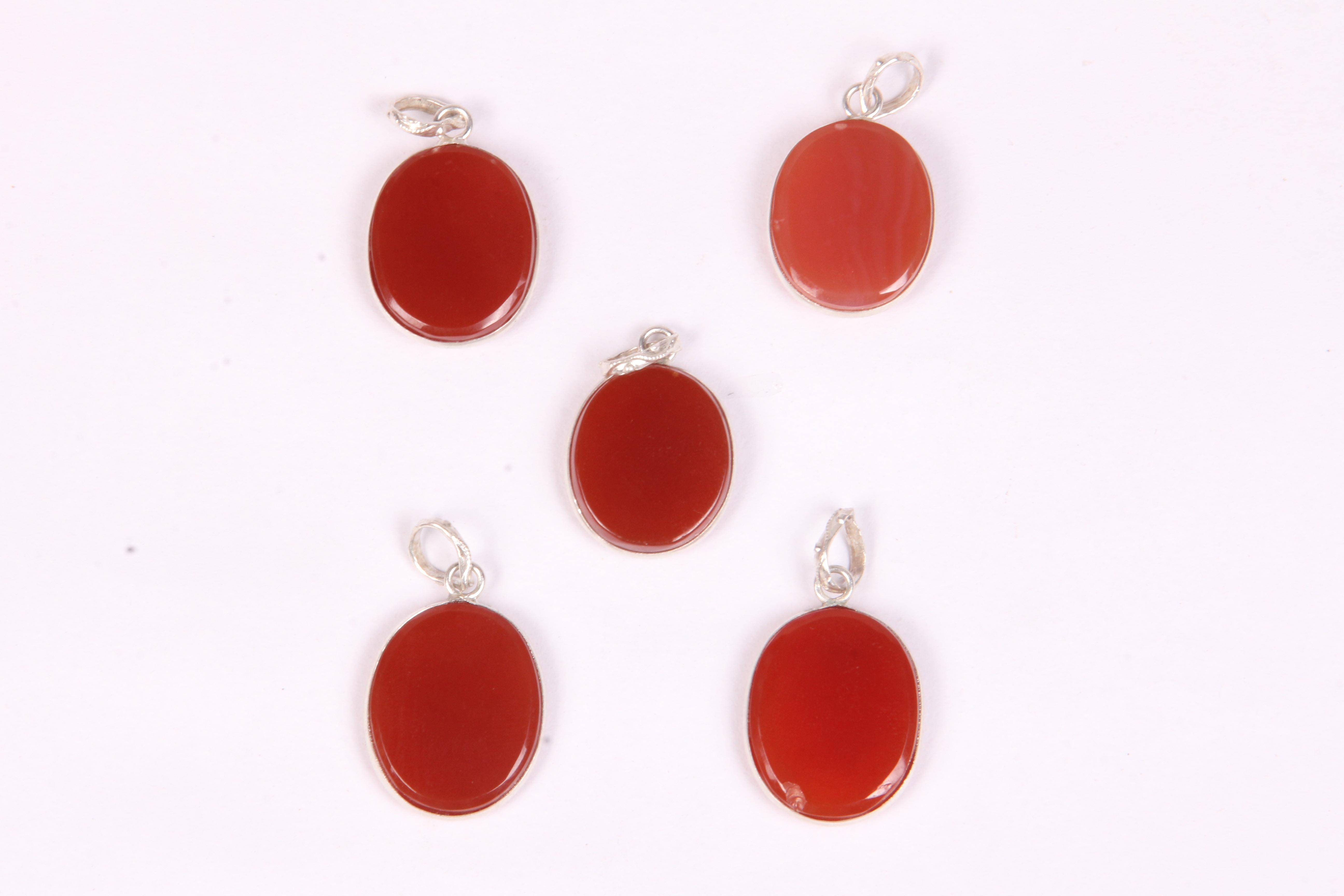 Red Onyx Pendant
