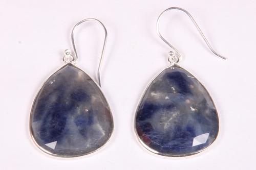 Blue Sapphire Stone Earring