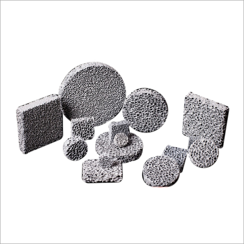 Silicon Carbide Ceramic Foam Filter for filtration of grey iron
