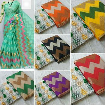 Ladies Cotton Sarees Set