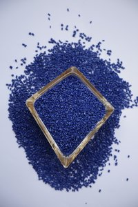 ABS Dark Blue Granules