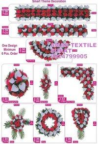 Artificial flower garlands for indian weddings