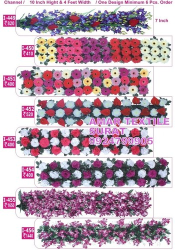 Artificial Flower garlands for Indian weddings decoration