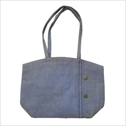 Stylish Beach Plain Jute Bag