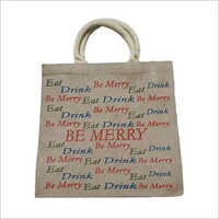 Executive Printed Jute Bag