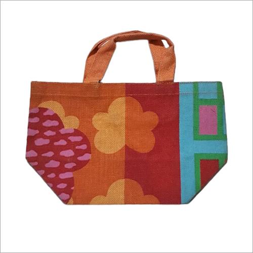 Custom Beach Printed Jute Bag