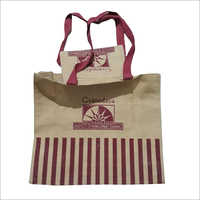 Shopping Printed Jute Bag