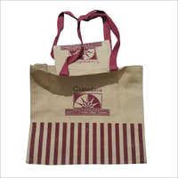 Shopping Printed Jute Bag