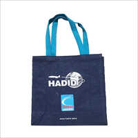 Stylish Shopping Printed Jute Bag